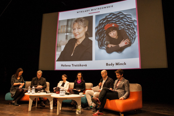 Konferencja prasowa 14. Millennium Docs Against Gravity wNInA, 15.03.2017. Fot.Kamila Szuba